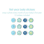 First Year Belly Stickers - Boy