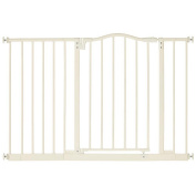North States Portico Arch Metal Baby Child Pet Gate - Linen : 4977