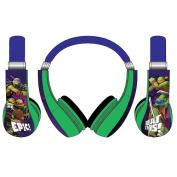 Teenage Mutant Ninja Turtles Kids Friendly Headphones