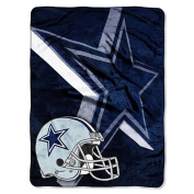NFL 150cm  x 200cm  Micro Raschel Throw - Dallas Cowboys - by Northwest