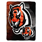 NFL 150cm  x 200cm  Micro Raschel Throw - Cincinnati Bengals - by Northwest