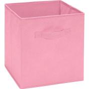 Ameriwood Fabric Storage Bin - Pastel Pink