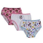 Disney Baby Girls 3 Pack Minnie Mouse Underwear - Toddler