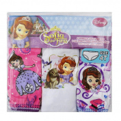 Disney Sofia the First Girls' 3 Pack Underwear