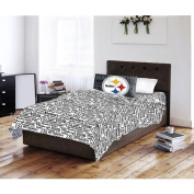 NFL Twin Sheet Set - Pittsburgh Steelers - by Northwest