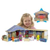 Barney Deluxe Schoolhouse Playset