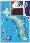 Map of Japan Shitajiki Pencilboard