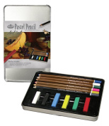 Royal & Langnickel Small Tin Pastel Pencil Art Set
