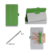 ProCase Folio Case with Stand for Samsung Galaxy Tab 4 8.0 Tablet 2014 ( 20cm Tab 4, SM-T330 / T331 / T335), with Auto Sleep/Wake feature, bonus stylus pen included
