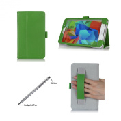 ProCase Folio Case with Stand for Samsung Galaxy Tab 4 7.0 Tablet 2014 ( 18cm Tab 4, SM-T230 / T231 / T235), with Hand Strap, bonus stylus pen included