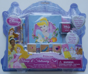 Disney Princess Stamp & Stationery Set