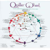 Jack Richeson Quiller Colour Wheel for All Media by Stephen Quiller, 22cm by 22cm