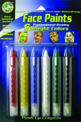 Crafty Dab Face Paint Push-Up Crayons - Bright Colours