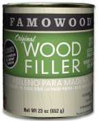 FAMOWOOD Original Wood Filler - Oak/Teak - Pint Net Wt 680ml