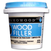 FAMOWOOD Latex Wood Filler - Cherry/Dark Mahogany - 1/4 Pint