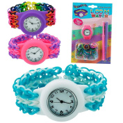Fashion Loom Watch Kit - Design Your Own Trendy Jewellery Making Craft Set