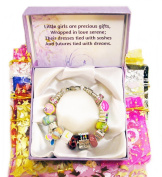 Timeline Treasures Girls Charm Bracelet European Style Fits Pandora Jewellery Kit 2013