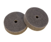 Medium Abrasive Buffing Wheels (pack of two) for EuroTool Bench Top Polisher Model POL-260.00