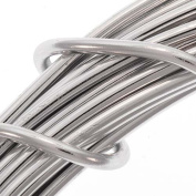 Aluminium Craft Wire Silver Colour 12 Gauge 39 Feet