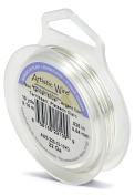 Artistic Wire 22-Gauge Tarnish Resistant Silver Wire, 10-Yard