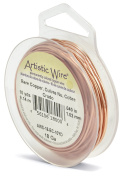 Artistic Wire 18-Gauge Bare Copper Wire, 10-Yards