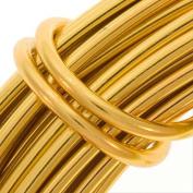 Aluminium Craft Wire 12 Gauge 12m GOLD 42598