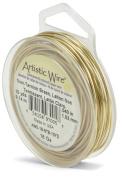 Artistic Wire 18-Gauge Non-Tarnish Brass Wire, 10-Yards