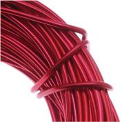 Aluminium Craft Wire 18 Gauge 12m RED 42627