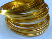 Gold Flat Wire 0.06m X 9.8m Long