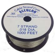 Acculon 7 Strand Beading Wire - .46cm Bright 300m