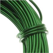 Aluminium Craft Wire Kelly Green 18 Gauge 39 Feet