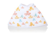 zutano for aden by aden + anais 100% Cotton Muslin Burpy Bib, Sunday Drive