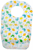 Summer Keep Me Clean Disposable Bibs, 20-Count