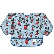 Bumkins Disney Baby Waterproof Sleeved Bib, Mickey Classic, 6-24 Months