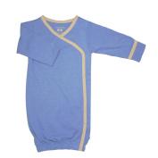 Babysoy Baby Boys' Kimono Bundler (Baby) - Lake Blue