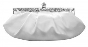 Chicastic Bridal Wedding Clutch Purse with Rhinestones