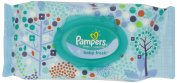 Pampers Baby Fresh Wipes Travel Pack 64 Count,