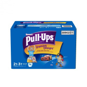 Pull-Ups Training Pants with Learning Designs for Boys, 2T-3T, 74 Count