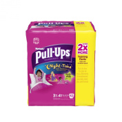 Huggies Pull-Ups Night Time Training Pants for Girls, 3T-4T, 42 Count