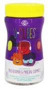 Solgar - U-Cubes Children's Multi-Vitamin & Mineral Gummies Grape, Orange, & Cherry - 60 Gummies