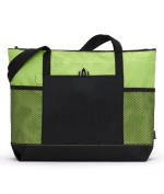Gemline Select Zippered Tote Bag. 1100