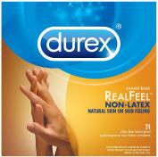 Durex Avanti Bare Real Feel Polyisoprene Non Latex Lubricated Condoms, 24 Count