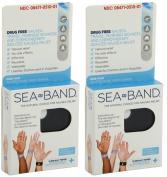 Sea-Band Sea-Band Acupressure Wrist Bands, 2 Pairs