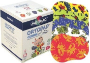 Ortopad Elite Boys Eye Patches - Patterns with Glitter Accents, Regular Size