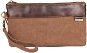 Genda 2Archer Canvas Wristlet Coin Purse Keys Bag Card Case Phone Bag