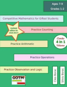 Competitive Mathematics for Gifted Students - Level 1 Combo