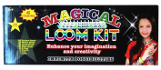 Magical Colourful Loom Kit, Includes Loom, Hook, Bands, Clips & Charms