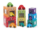 Melissa & Doug Nesting, Sorting Garages and Cars