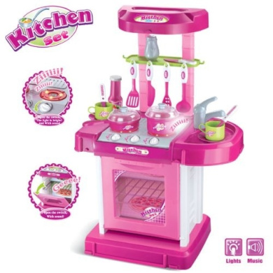 Portable kitchen appliance oven cooking play set 70cm w for Kitchen set nz