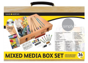 Daler Rowney Mixed Media Art Box Set